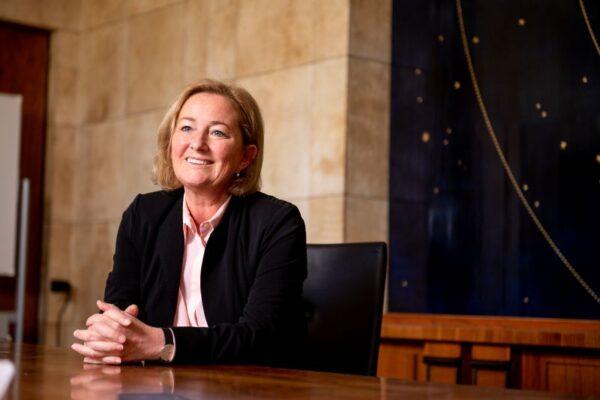 Paulette Lenert, ministre de la santé en mode Covid (photo: Marie De Decker)
