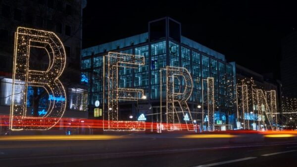 Survey's respondents have picked out Berlin as the most attractive city to start a company in Europe followed by London, Amsterdam and Barcelona (photo: Levin, Unsplash).