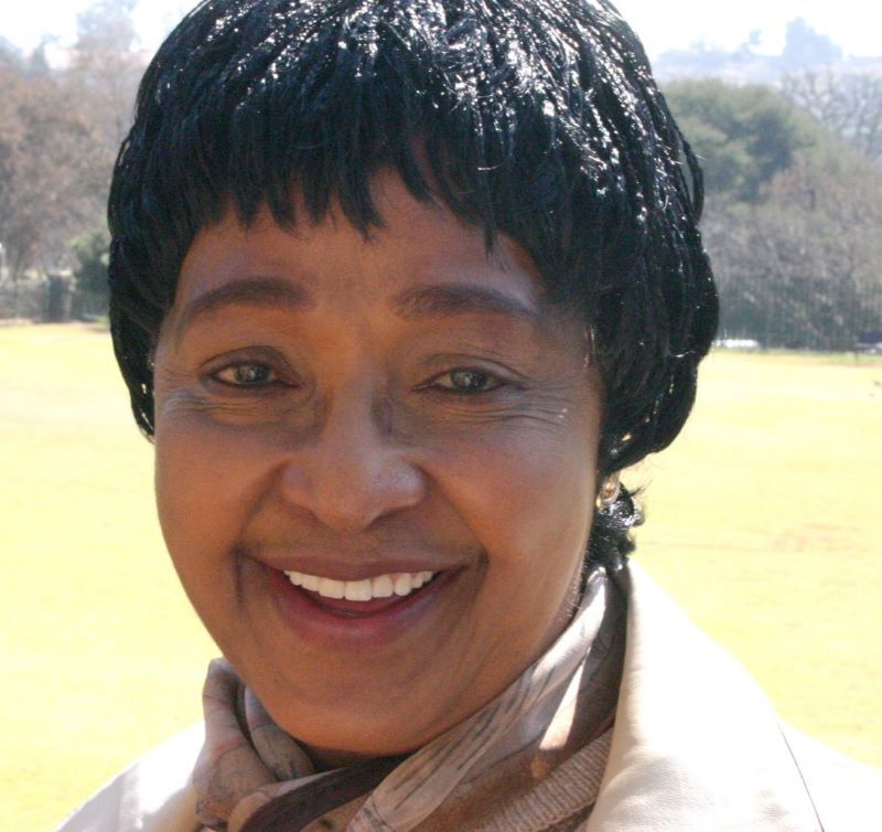 Portrait de Winnie Madikizela-Mandela (photo : Rotational Commons.wikimedia.org)
