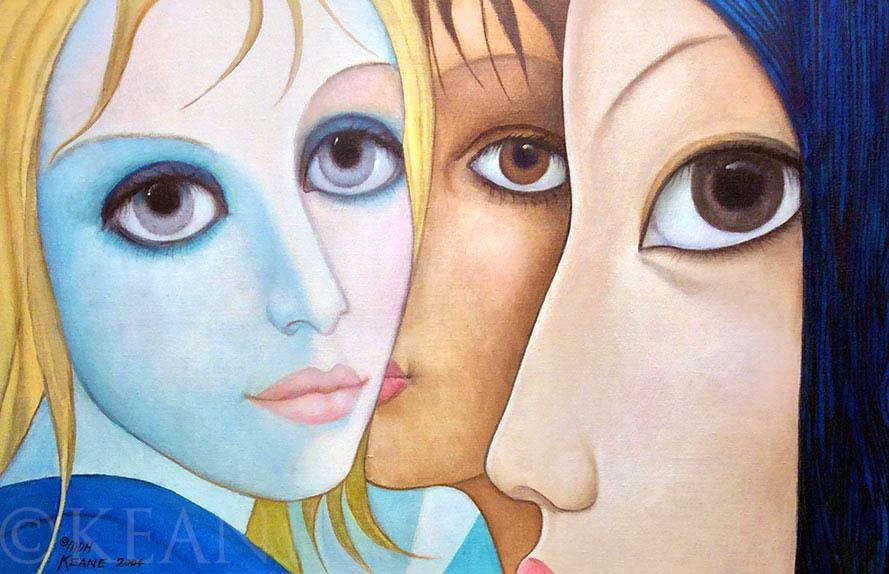 Corner-eyes (2004, Keane Eyes Gallery)