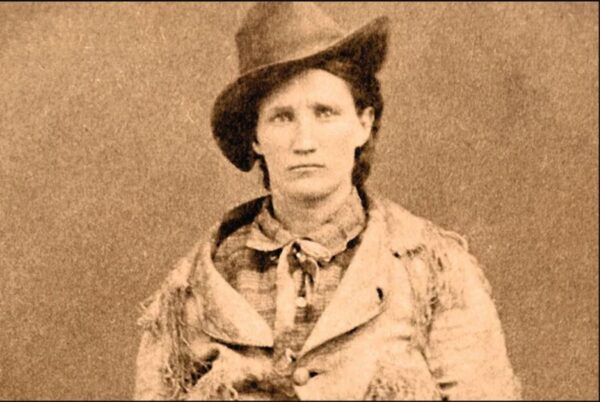 Calamity Jane vers 1876 - 1877 (photographe inconnu, source : True West Archives)